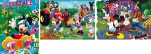 PUZZLE 3X48 PIESE MICKEY MOUSE