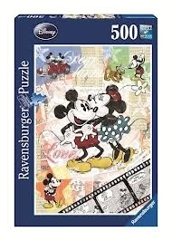 Puzzle 500 Disney Retro Mickey