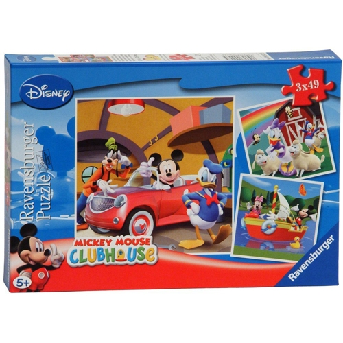 PUZZLE CLUBUL MICKEY MOUSE 3x49