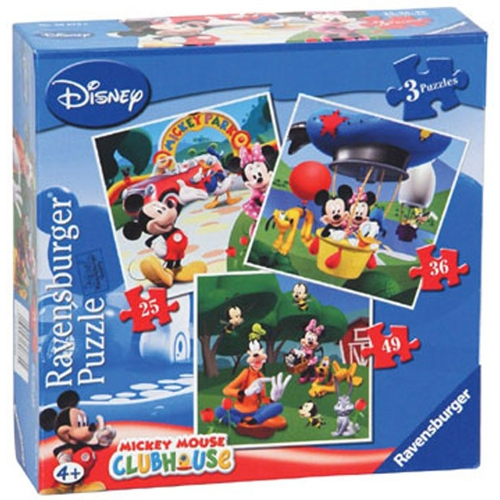 PUZZLE CLUBUL MICKEY MOUSE BUC