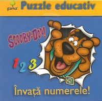 Puzzle educativ Invata numerele