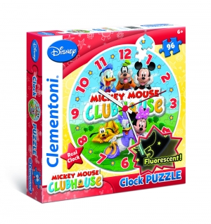 Puzzle Piese Ceas Fluorescent Clubul