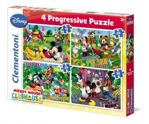 Puzzle Progresiv 4x1 Clubul lui