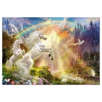 Puzzle Unicorns Sunset 500 piese