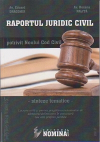 Raportul Juridic Civil potrivit Noului