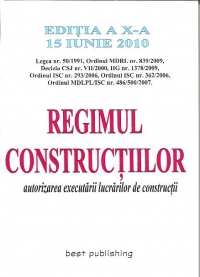 Regimul constructiilor Editia autorizarea executarii