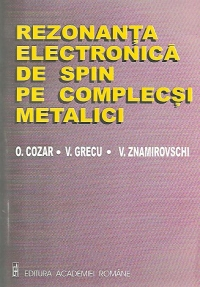 Rezonanta electronica spin complecsi metalici