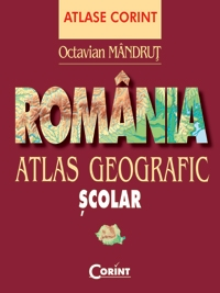 ROMANIA ATLAS GEOGRAFIC SCOLAR