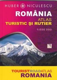 Romania Atlas turistic si rutier 1:550 000
