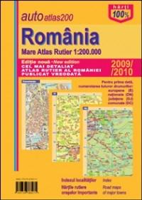 Romania mare atlas rutier 1:200 000