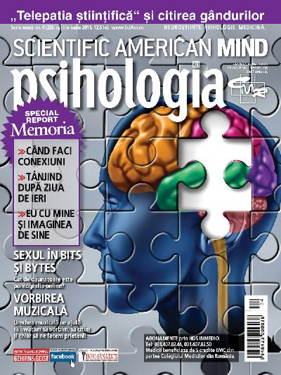 Scientific American Mind. Psihologia Azi. Numarul 4