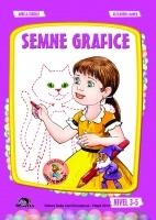 Semne grafice. Nivel 3-5 ani (editia 2014)