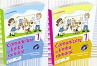 Set Comunicare in limba romana, Manual pentru clasa a I (Partea I + Partea a II-a, manualele contin CD-uri, autor Simona Dobrescu)