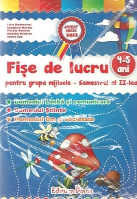 Set fise lucru pentru grupa