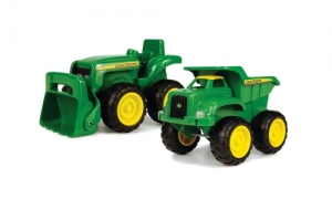 SET JOHN DEERE MINI TRACTOR