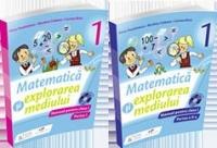 Set Matematica si explorarea mediului, Manual pentru clasa a I (Partea I + Partea a II-a, manualele contin CD-uri)