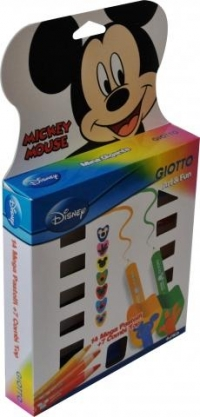 Set creioane colorate Mickey Mouse