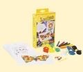 Set snururi colorate cartonase pentru