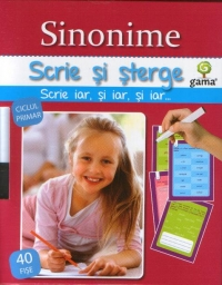 Scrie sterge Sinonime (ciclul primar)