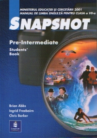 SNAPSHOT Pre Intermediate Student Book