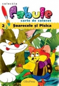 Soarecele pisica Carte colorat (colectia