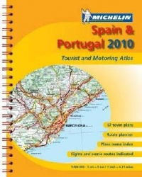 Spain and Portugal 2010 Atlas A4 Spiral