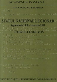 Statul National Legionar Septembrie 1940