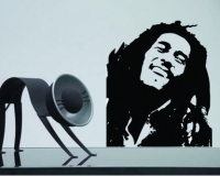 Sticker decorativ Bob Marley 50x60