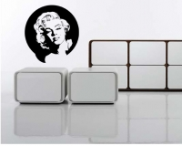 Sticker decorativ Marilyn Monroe 60x64