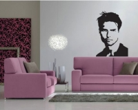 Sticker decorativ Tom Cruise 50x72
