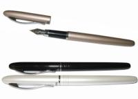 Stilou Regal metalic cu penita (+ 1 patron albastru), culoare stilou argintiu (407F)