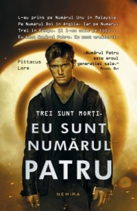 sunt numarul patru (paperback)