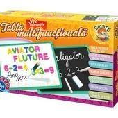 Tabla multifunctionala educativa numere alfabet