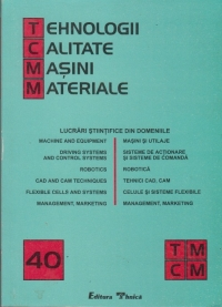TCMM Lucrari din domeniile: masini