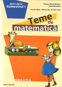 Teme matematica Clasa Partea (anul
