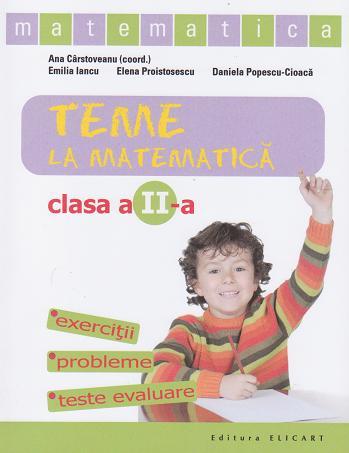 matematica. Clasa a II-a - caiet de lucru (exercitii, probleme, teste
