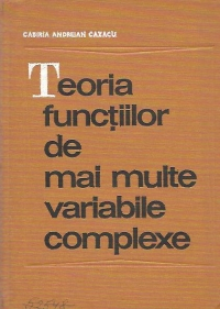 Teoria functiilor de mai multe variabile complexe