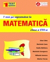 test saptamana matematica clasa VIII