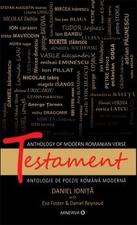 Testament Anthology modern romanian verse