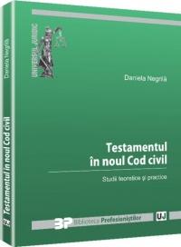 Testamentul noul Cod civil Studii
