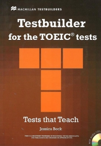 Testbuilder for the TOEIC tests (with audio CDs)