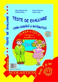 TESTE EVALUARE LIMBA ROMANA MATEMATICA