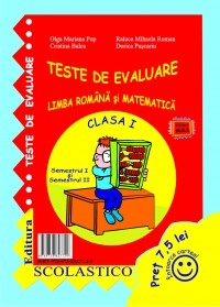 TESTE EVALUARE CLASA Semestrul Semestrul