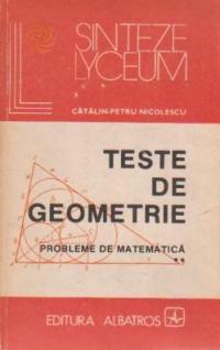 Teste de geometrie - Probleme de matematica, Volumul al II-lea