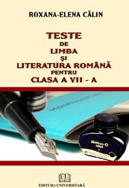 Teste limba literatura romana pentru