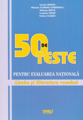 teste pentru Evaluarea Nationala Limba