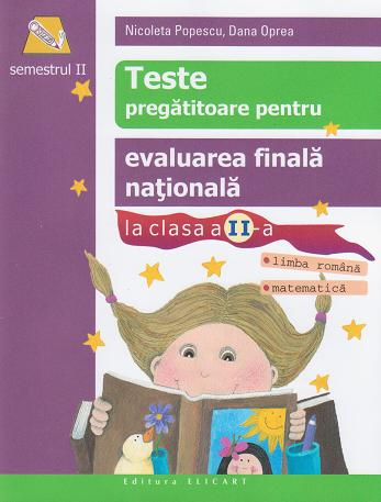 Teste pregatitoare pentru evaluarea finala