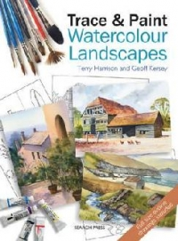 Trace and Paint Watercolour Landscapes
