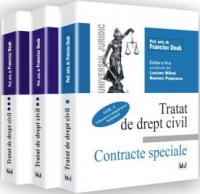 Tratat drept civil Contracte speciale