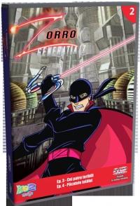 Zorro - Generatia Z, DVD volumul 2 (Ep. 1 Cei patru teribili, Ep. 2 Pacatele tatalui)